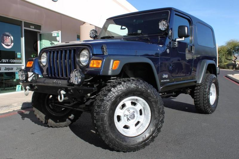 Used 2006 Jeep Wrangler Sport <span>Unlimited LWB</span> | Scottsdale, AZ