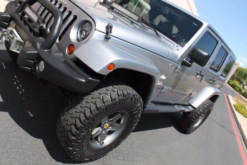 Used-2013-Jeep-Wrangler-Unlimited-Sahara-4X4-Modified-Grand-Cherokee