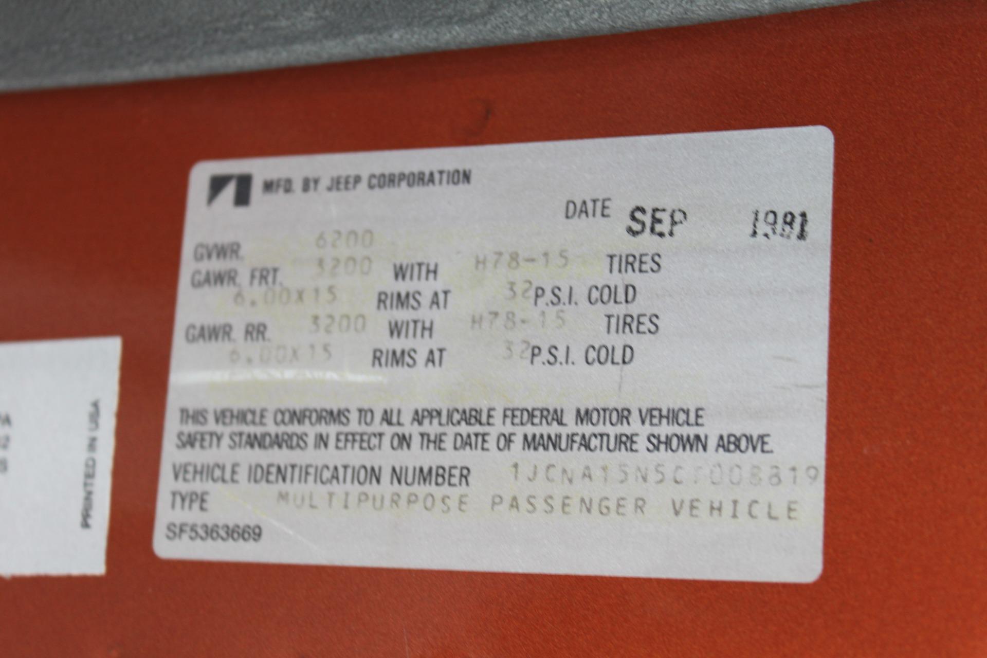 Used-1982-Jeep-Wagoneer-Limited-4WD-XJ