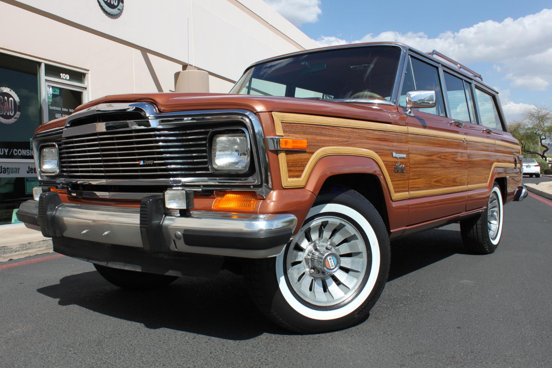 Used 1982 Jeep Wagoneer Limited 4WD <span></span> | Scottsdale, AZ