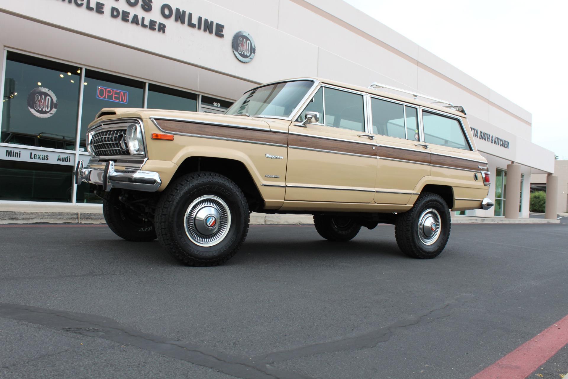 Used-1977-Jeep-Wagoneer-Brougham-4X4