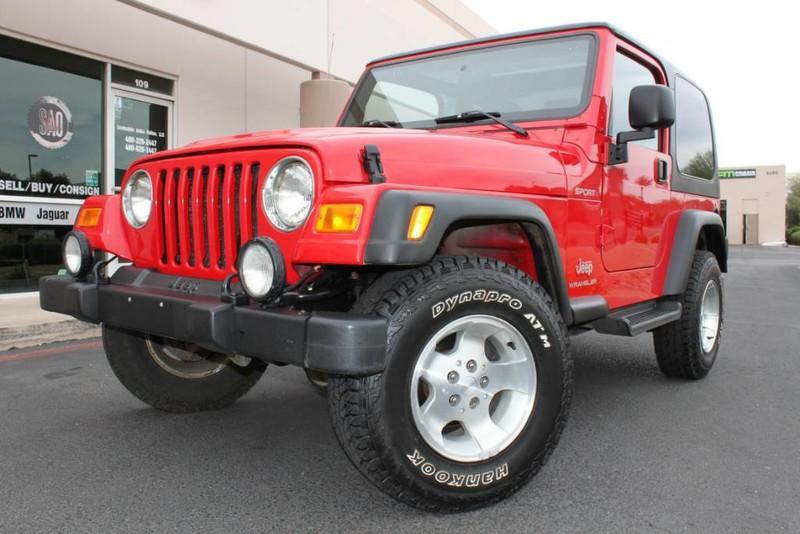 Used 2003 Jeep Wrangler U003cspanu003eSport 4X4 Hard Topu003c/spanu003e |