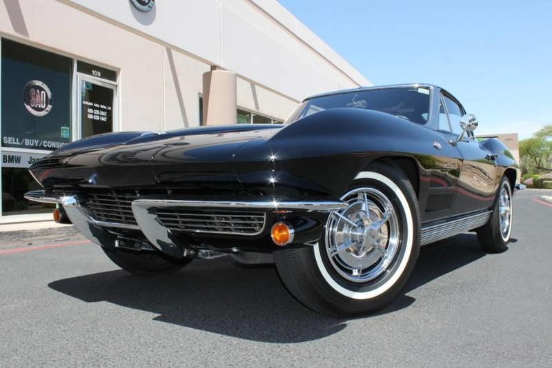 Used 1963 Chevrolet Corvette Split Window Coupe <span>Radio Delete</span> | Scottsdale, AZ