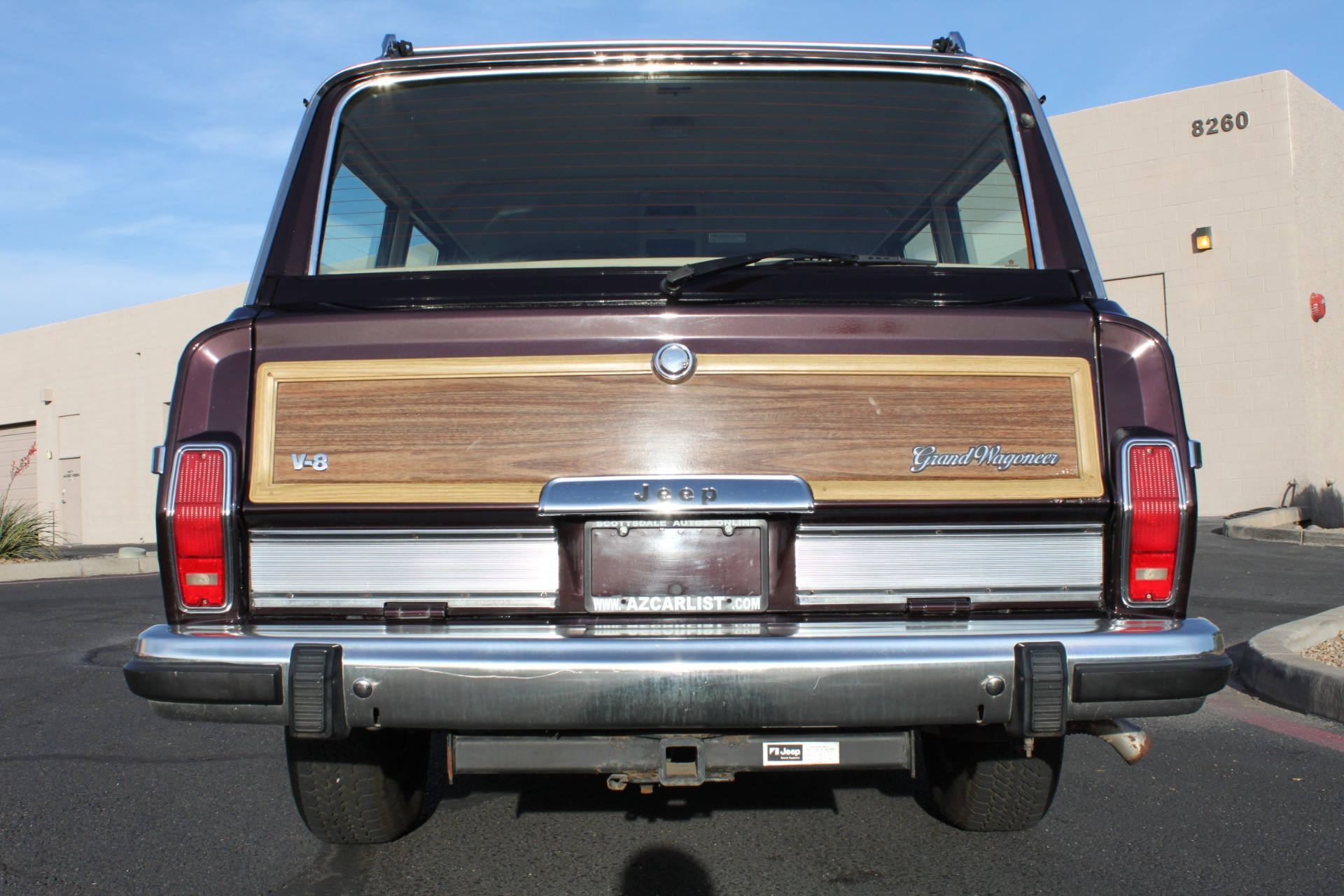 1990 Jeep Grand Wagoneer 4X4 Stock # P1196 for sale near