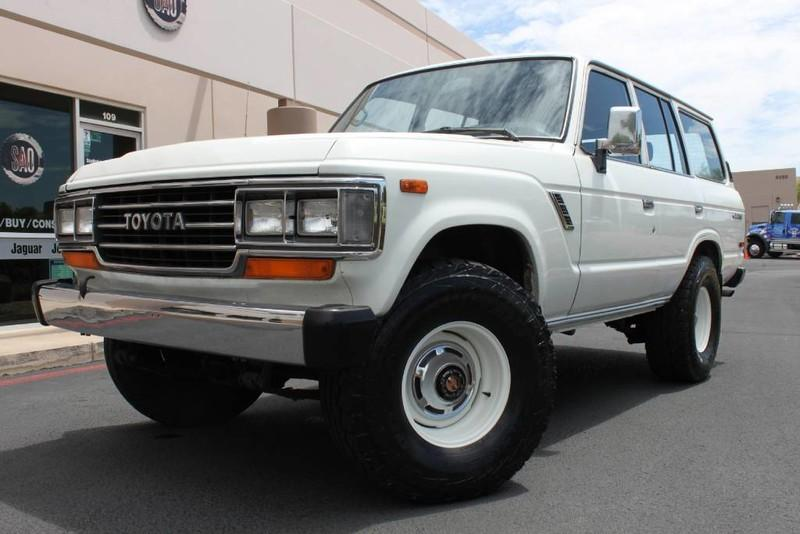 1988 Toyota Land Cruiser 4x4 Stock P1145a For Sale Near