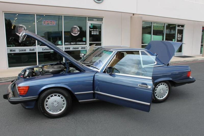Used-1987-Mercedes-Benz-560-Series-560SL-LS430