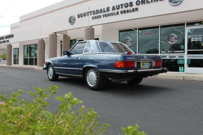 Used-1987-Mercedes-Benz-560-Series-560SL-Audi
