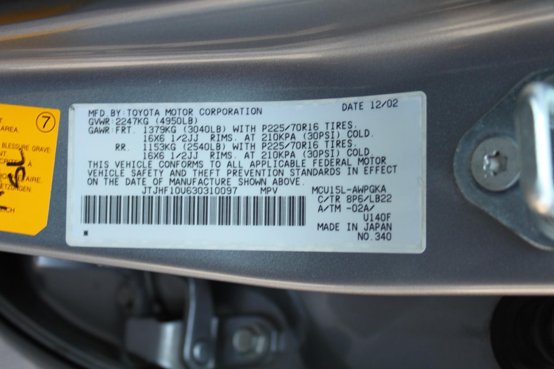 Used-2003-Lexus-RX-300-AWD-Honda