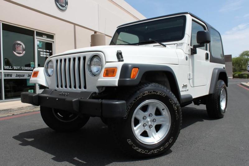 Used 2004 Jeep Wrangler <span>X 4X4 Hard Top 4.0 Liter Inline 6 Cyl</span> | Scottsdale, AZ