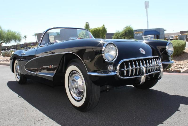 Used-1957-Chevrolet-Corvette-Roadster-283-CI-/-283-HP-Fuel-Injection-Mercedes-Benz