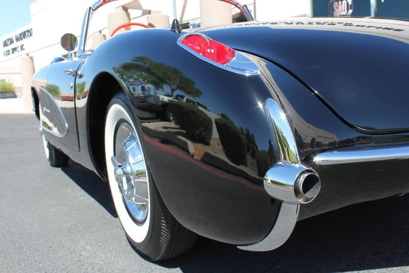 Used-1957-Chevrolet-Corvette-Roadster-283-CI-/-283-HP-Fuel-Injection-Audi