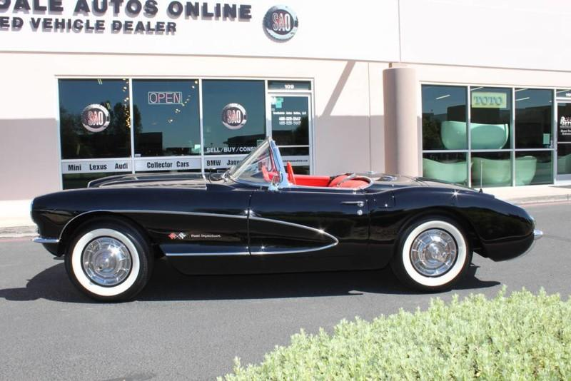 Used-1957-Chevrolet-Corvette-Roadster-283-CI-/-283-HP-Fuel-Injection-Wagoneer