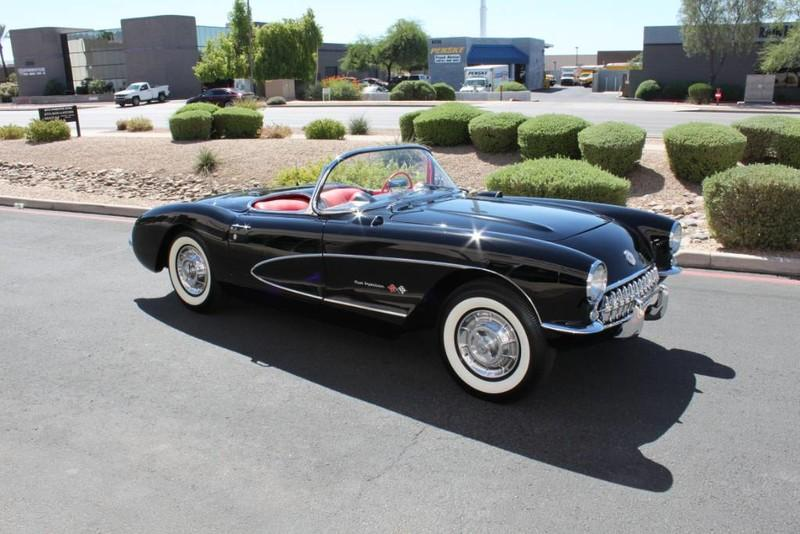 Used-1957-Chevrolet-Corvette-Roadster-283-CI-/-283-HP-Fuel-Injection-Dodge