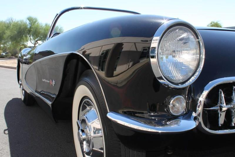 Used-1957-Chevrolet-Corvette-Roadster-283-CI-/-283-HP-Fuel-Injection-Tesla