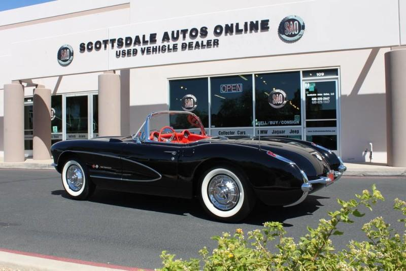 Used-1957-Chevrolet-Corvette-Roadster-283-CI-/-283-HP-Fuel-Injection-Classic