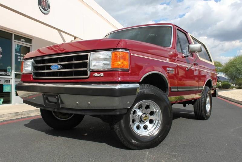 Used 1990 Ford Bronco XLT 4X4 <span></span> | Scottsdale, AZ