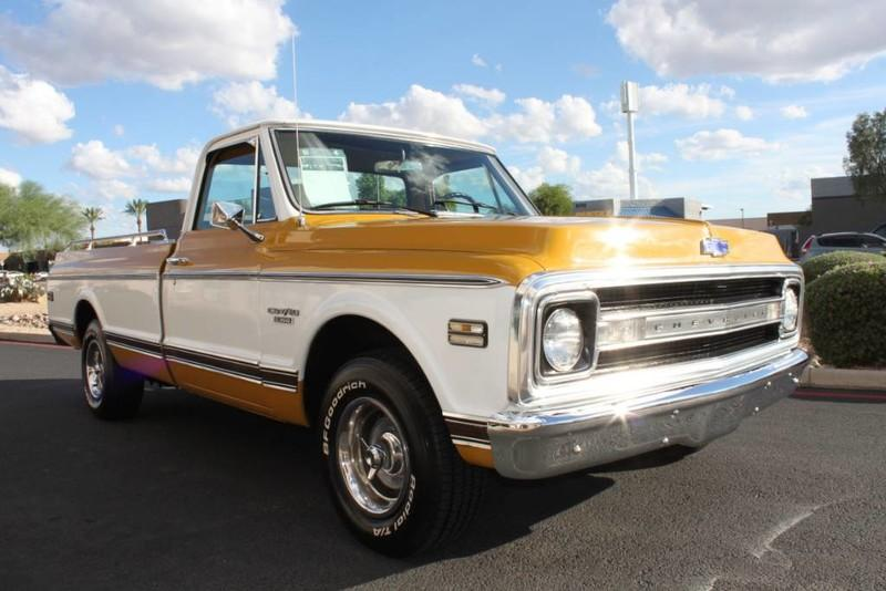 Used-1970-Chevrolet-CST/10-(C10-Truck)-350-V8-Mercedes-Benz