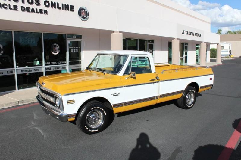 Used-1970-Chevrolet-CST/10-(C10-Truck)-350-V8-Porsche