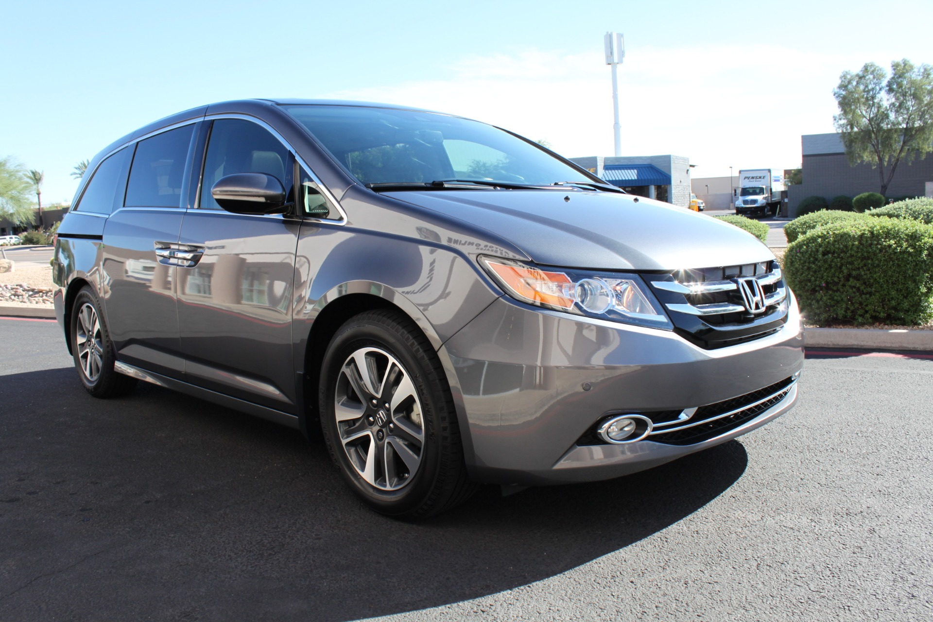 Used-2016-Honda-Odyssey-Touring-Elite-Mercedes-Benz