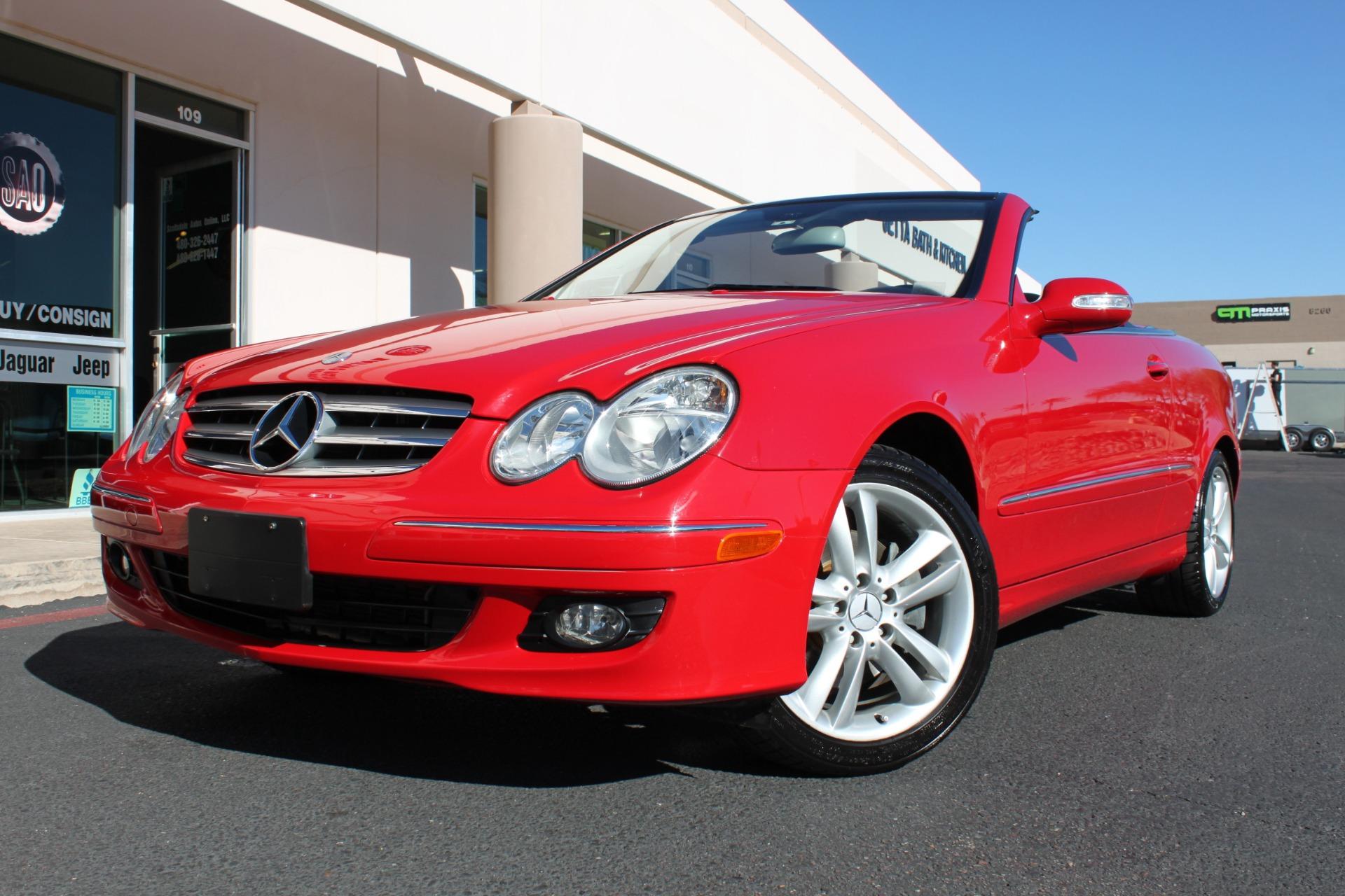 Used 2006 Mercedes-Benz CLK Class CLK350 Cabriolet <span>3.5L</span> | Scottsdale, AZ