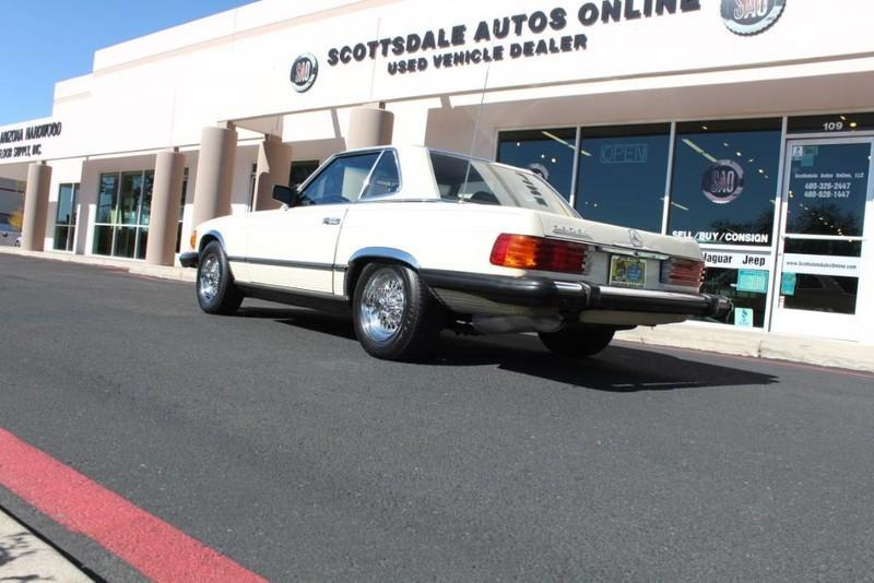 Used-1982-Mercedes-Benz-380-Series-380SL-Range-Rover