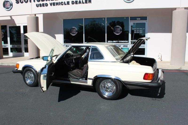 Used-1982-Mercedes-Benz-380-Series-380SL-Porsche